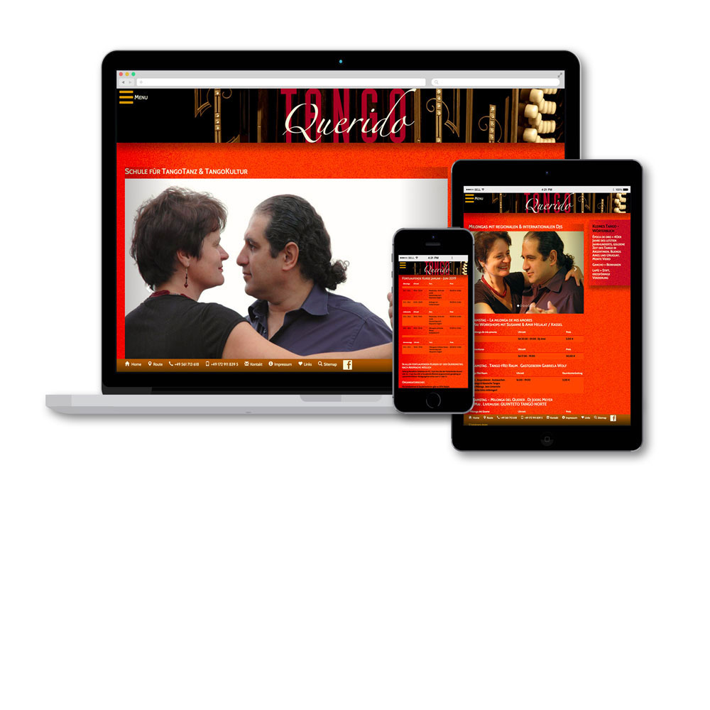 Showcase Website Tango Querido